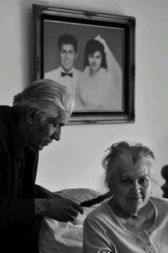 Growing old is a privilege. Growing old together - a blessing.