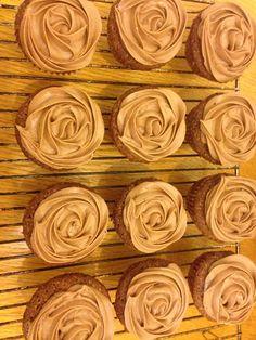 Chocolate lime cupcakes :)