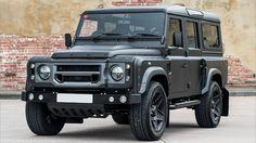 Kahn se despide del Land Rover Defender como solo ellos saben - http://www.actualidadmotor.com/land-rover-defender-the-end-edition-por-kahn/