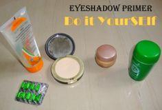 DIY Cosmetics ~ Homemade Eyeshadow Primer Recipe - DIY - Makeup and Beauty Home: homemade eyeshadow primer Diy Eyeshadow, Natural Eyeshadow, Eyeshadow Primer, Eye Primer, Makeup Primer, Natural Cosmetics, Homemade Beauty, Diy Beauty, Beauty Stuff