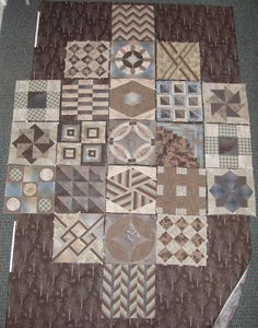 sashiko and other stitching: Japanese quilt blocks course in October 2012
