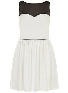 Kardashian Kollection white and black prom dress - Shop the full Kollection  - Kardashians