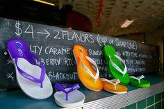 Flip Flops...Choose your flavor! Gelattto