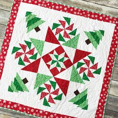 Christmas Mystery Quilt Pattern