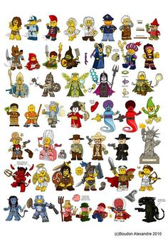 Lego and figures