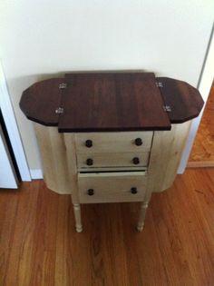 Vintage Martha Washington sewing table brought back to life!