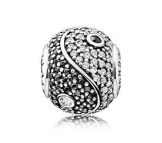 PANDORA ESSENCE BALANCE Charm | www.goldcasters.com. My favorite one....want!
