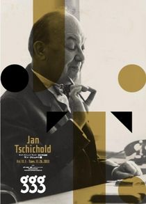 Upcoming Jan Tschichold exhibition at ginza graphic gallery (ggg) in Tokyo.