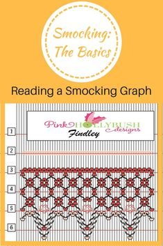 A basic explanation of how to read a smocking graph.