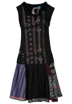 EVA - Robe chemise - noir