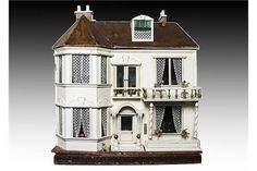 Bid Live on Lot 596 in the The Janet Winterflood Collection of Vinyl Fashion Dolls & Dolls, Dolls' Houses, Traditional Toys and Teddy Bears Auction from Special Auction Services. Traditional Toys, Antique Dollhouse, The Saleroom, Miniture Things, Antique Toys, Miniature Dolls, Auction, Miniatures, House Styles