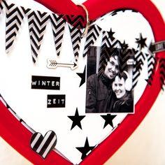 Herzbilderrahmen von http://loveletters4you.de für #WeihnachtenKannKommen von www.danipeuss.de