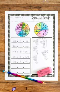 Division Unit is Ready - Ashleigh's Education Journey long division game<br> Shake things up in the math classroom with my brand new fourth grade division unit! Check out this blog post to read more now!