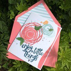 Swirly Bird, Swirly Scribbles, Card Making, Stampin' Up! Cards, Layering Love