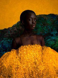 Black Girls Rock, Black Girl Magic, Collage Techniques, Orange Design, Secret Places, Best Photographers, Magazine Art, Black Art, Art World