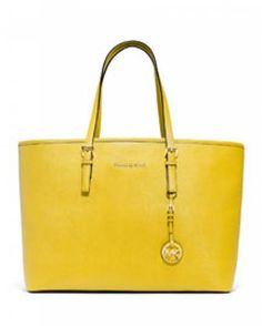 4ed39a49f The Michael Kors Jet Set Luggage Saffiano Leather Tote is a top 10 member  favorite on Tradesy.