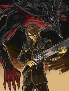 As cool as Squall's normal costume is,it would have been nice to be able to use his SeeD uniform for more than just one tiny portion of the game...And there weren't even any battles in said small portion.