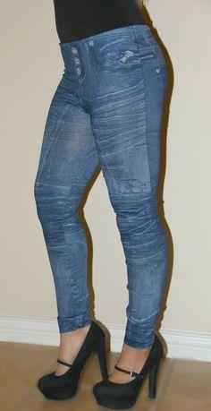 Posh Boutique, Jeggings, Blue Jeans, Capri Pants, Spandex, Denim, Dark, Ebay, Fashion