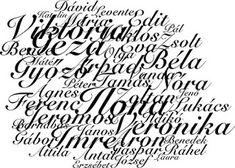 A nevek jelentése  #spiritualitás #spiritual #fényörvény #számmisztika #ezotéria #esoteric Karma, Arabic Calligraphy, Minden, Decor, Decoration, Arabic Calligraphy Art, Decorating, Deco