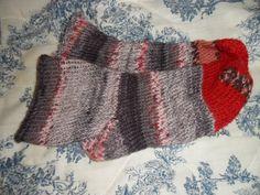 l'une de mes créations en tricotin géant