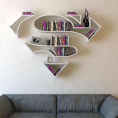 Super bookshelf 💪 By ©Burka Dogan - @proartists