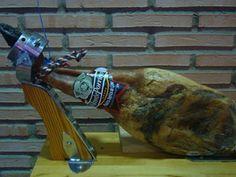 Paleta Ibérica de Cebo Ham, Palette, Hams