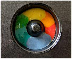 rainbow donuts batter