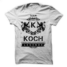 SPECIAL Team KOCH Legende 2015 - #striped shirt #tshirt typography. CHECK PRICE => https://www.sunfrog.com/Valentines/SPECIAL-Team-KOCH-Legende-2015.html?68278