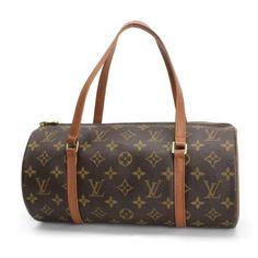 Louis Vuitton Papillon 30 (Old Model) Monogram Handle bags Brown Canvas M51365