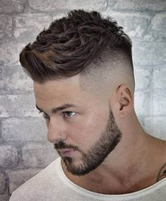 Hairstyle 125 Best Haircuts For Men in 2019 Short Spiky Hair - Best Men's Hairstyles: Cool Haircuts For Men. Most Popular Short, Medium and Long Hairstyles For Guys Mens Hairstyles Fade, Short Spiky Hairstyles, Cool Hairstyles For Men, Undercut Hairstyles, Cool Haircuts, Haircuts For Men, Fresh Haircuts, Short Undercut, Undercut Pompadour