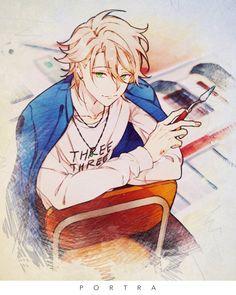 埋め込み Sanrio Danshi, Tiger And Bunny, Video Game Anime, Anime Art, Manga Anime, Handsome Anime Guys, Cute Anime Boy, Cute Images, Kawaii