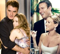 Big and Carrie, Carrie and Aidan, Sex and the City Perfect Couple, Best Couple, Best Tv Shows, Movies And Tv Shows, Carrie And Big, Tuesday Inspiration, Best Tv Couples, Mr Big, Celebration Quotes
