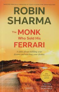 The Monk Who Sold His Ferrari: A Fable About Fulfilling Your Dreams and Reaching Your Destiny by Robin S. Sharma - a book for you if you like reading philosophical and spiritual literature. Check out the review of Book Dragon for more details about the book.