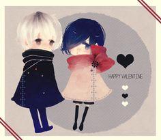 Happy Valentine's day!♥  Art by:志乃 Source:pixiv