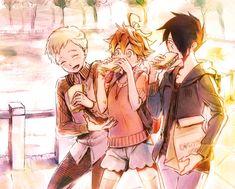 animepopheart: 奈川トモ | 約ネバ絵いろいろ the promised neverland republished w/permission#WoOF Otaku, Fanart, Manga Anime, Anime Art, Wattpad, Anime Reviews, Neverland, Memes, Norman