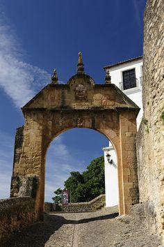 Arch of Felipe V, Ronda, Spain