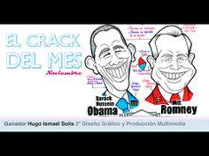 """Y el crack del mes es... Hugo Marín Solís, alumno de 2º de Diseño Gráfico y Producción Multimedia, por la realización de una infografía sobre las elecciones en Estados Unidos para la asignatura """"Fundamentos del diseño multimedia""""."""