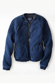 Factoids And Finds From Our Favorite Mall Stores #refinery29  http://www.refinery29.com/best-mall-stores#slide18  Out with the old, in with the new: Swap your regular denim jacket for a more relaxed bomber.