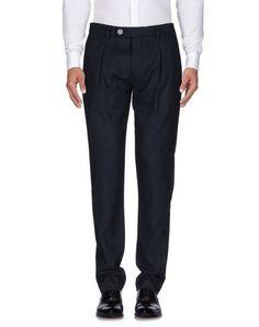 MANUEL RITZ Men's Casual pants Dark blue 34 waist
