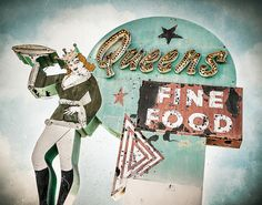 Queen's Fine Food by Shakes The Clown, via Flickr