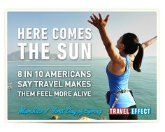 Don't suffer from #DayOffDeficit. Take time off, live #TravelEffect & become a happier, healthier you.