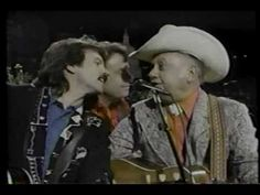 """Jimmy Martin with the,Nitty Gritty Dirt Band & Vassar Clements - """"Grand Old Opery Song"""""""