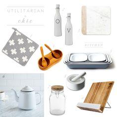 Utilitarian & Chic #2 - the kitchen