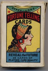 Details about Fortune Telling Cards Gypsy Lore Vintage Card Game 43 Cards Directions - Tarot and Angel Cards - Fale Fortune Cards, Fortune Telling Cards, Vintage Playing Cards, Vintage Cards, Tarot Card Decks, Tarot Cards, Gypsy Life, Gypsy Soul, Gypsy Living
