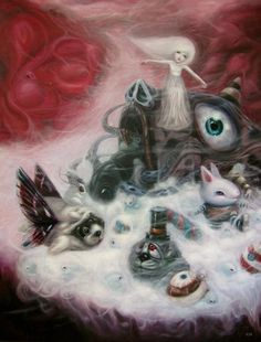 BetweenMirrors.com   Alt Art Gallery: The Otherworldly Art of Aof Smith
