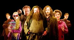 The cast of Harry Potter