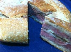 The Greatest Sandwich Ever - Shooter's Sandwich Two Fat Ladies Recipe