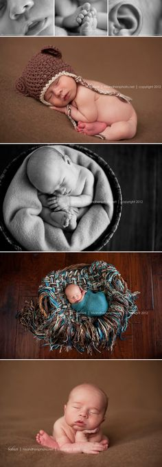 I love newborn photos so much! One of my bucket list items is to be able to take pictures like this of infants one day.