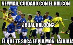 Meme Colombia vs Brazil Copa America Chile 2015