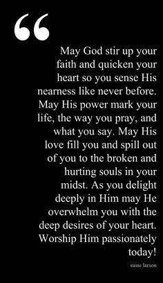 Start a Day Blessing Never heard of Susie Larson, but I love this. And the words are shaped like Mississippi! :)